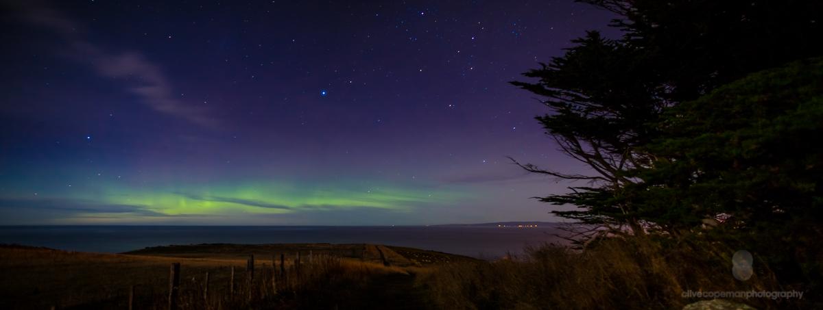 Otago Harbour Aurora--5