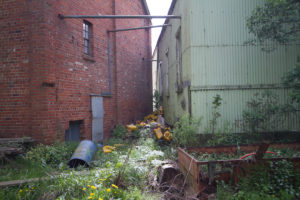 Abandoned Factory exterior